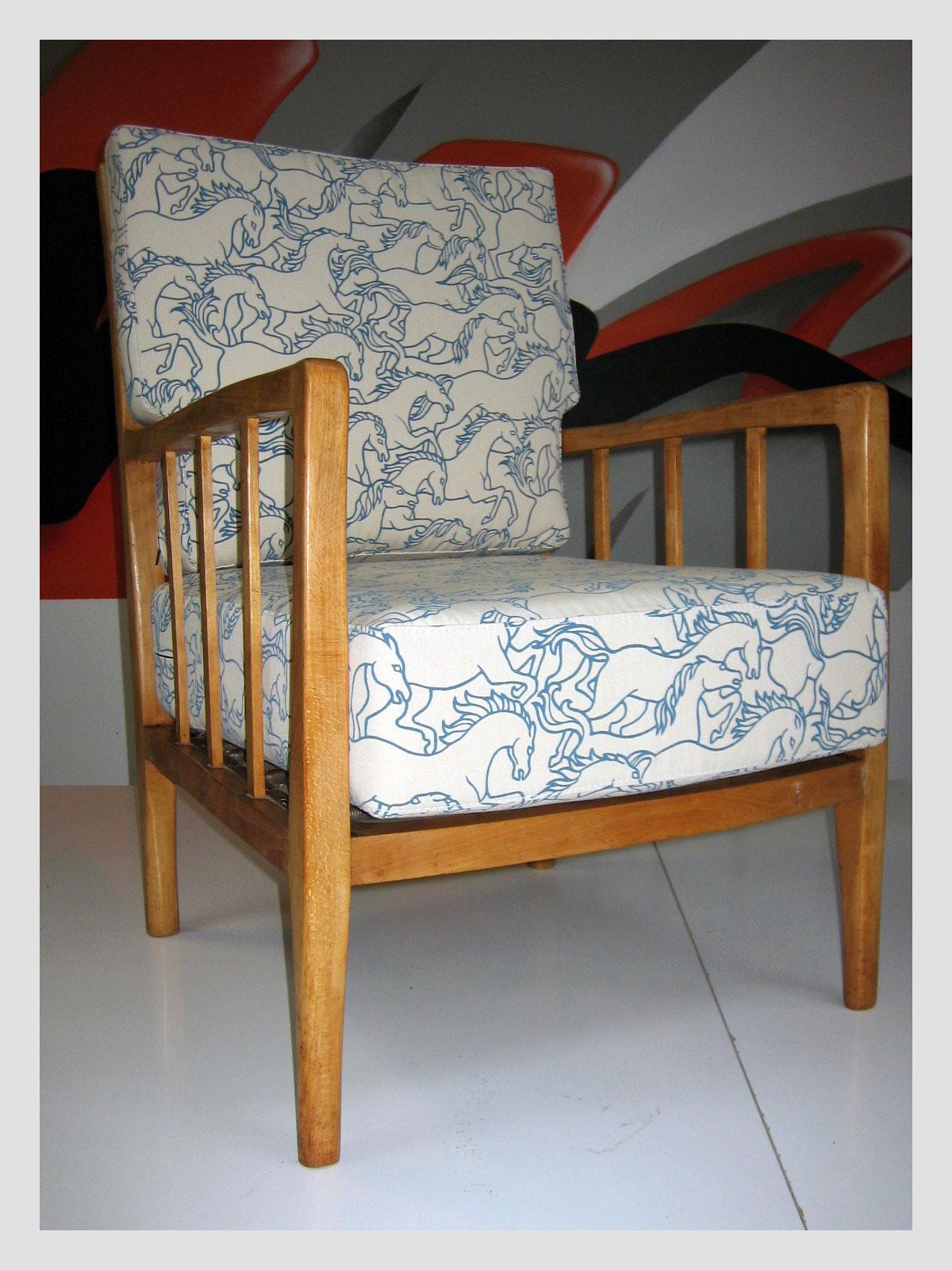 Florence Broadhurst Fabric Chair