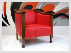 Edwardian Timber Club Chair