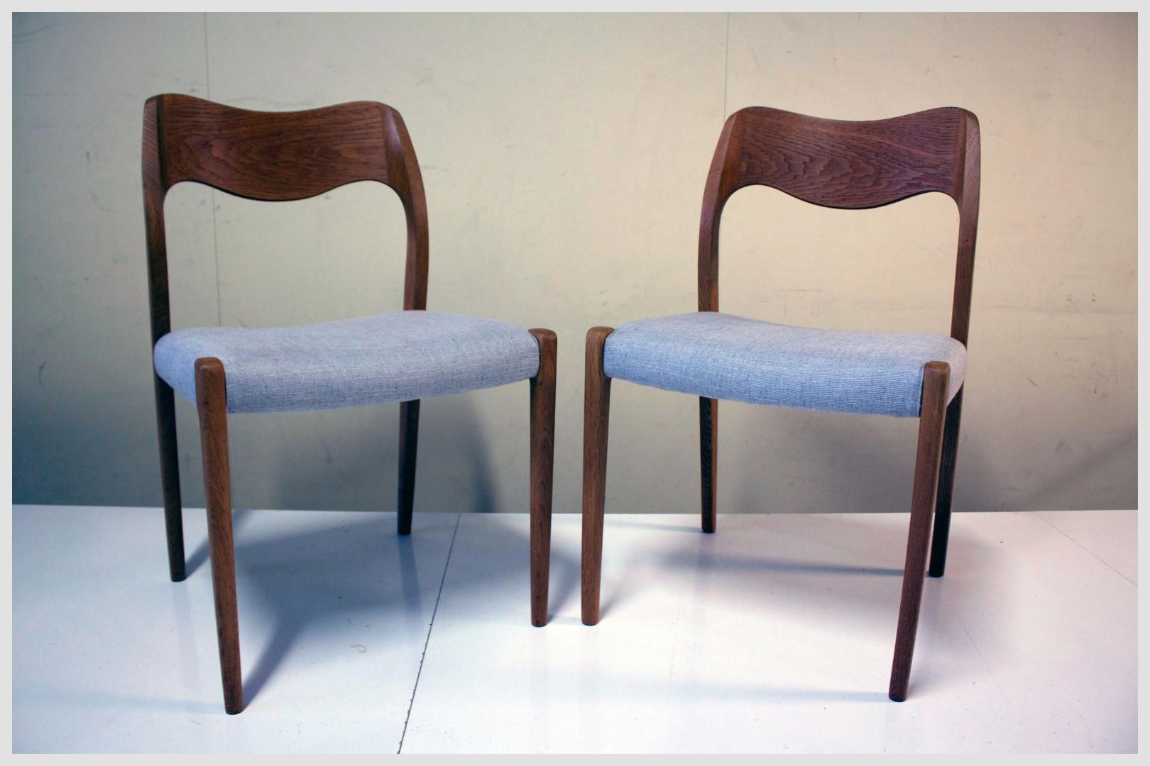 Moller #71 Oak Chairs