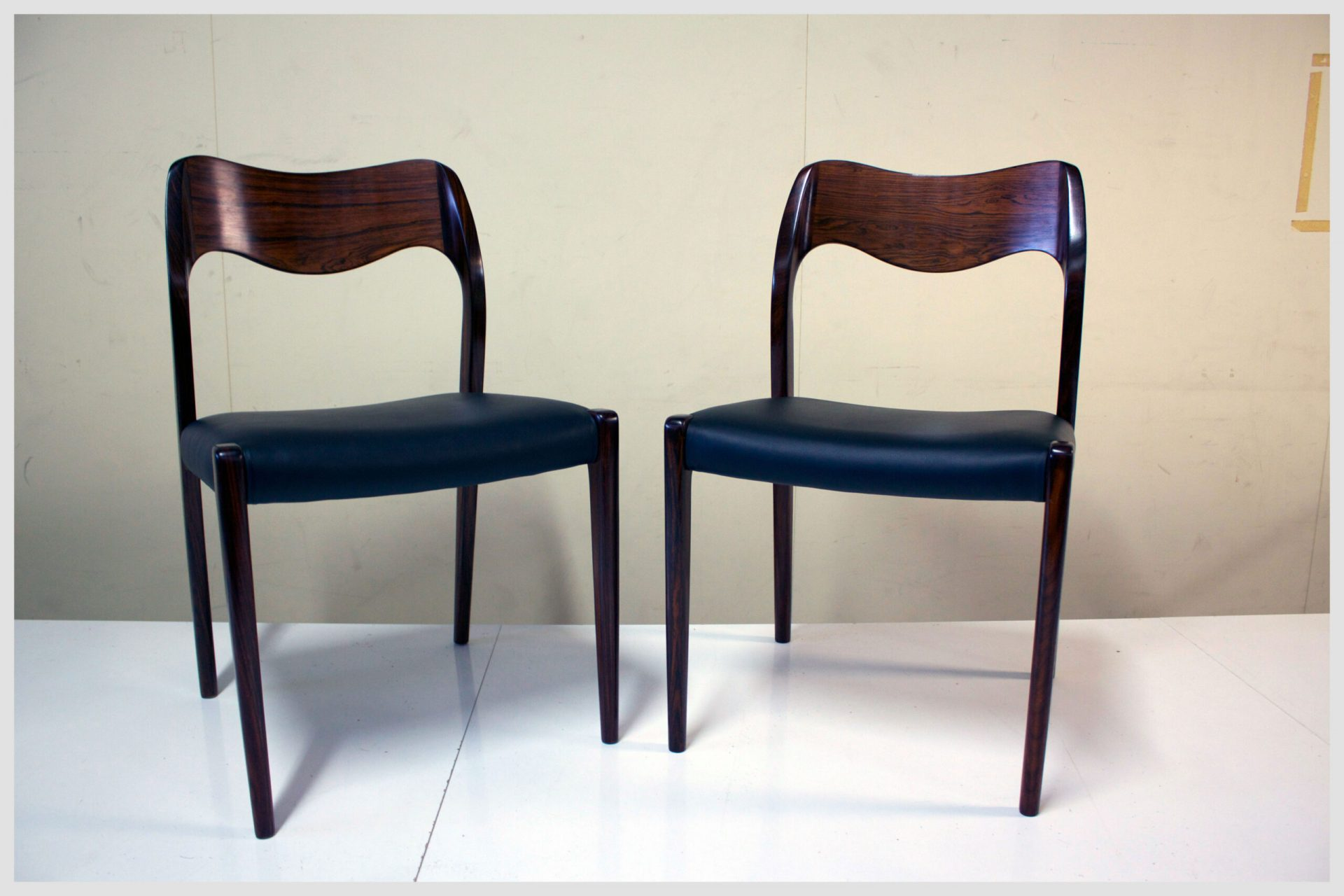 Moller # 71 Rosewood Chairs