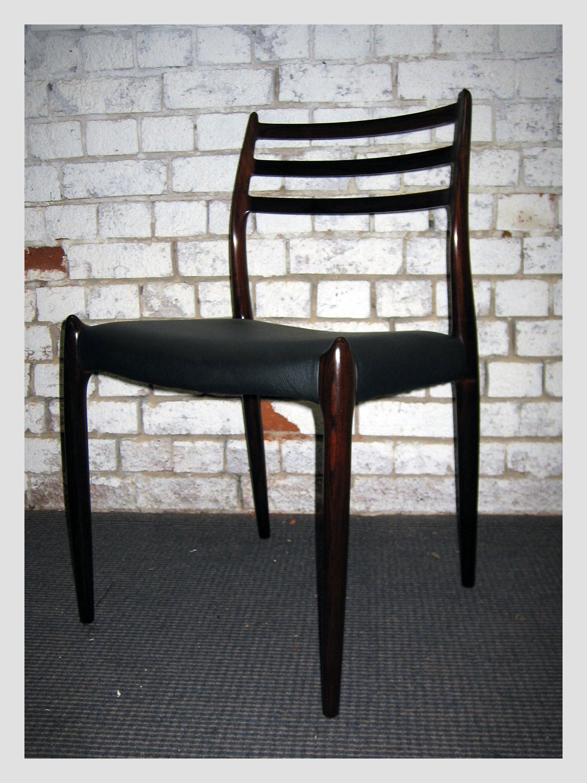 Moller #78 Rosewood Chair