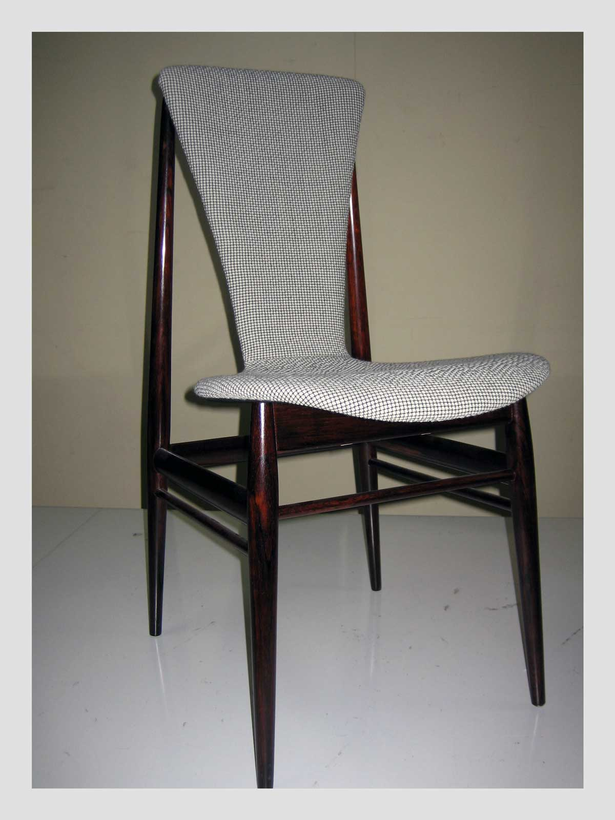 Swedish Rosewood Dining Chair