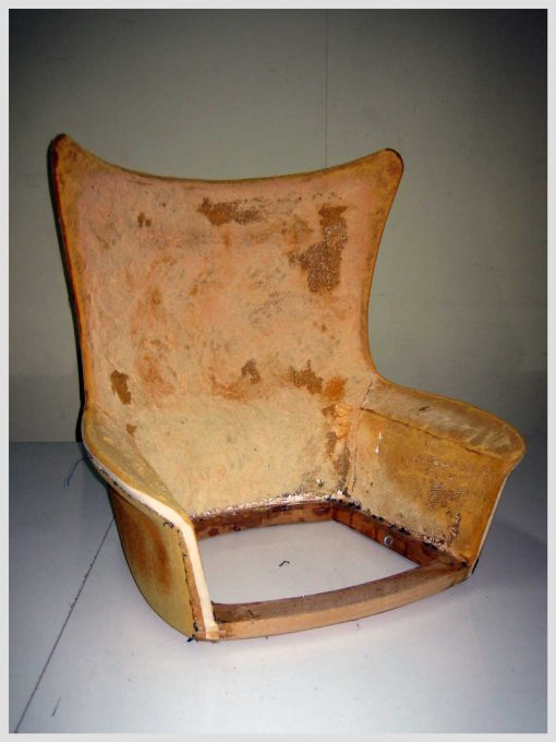Re-Upholstery-Fitzroy-Melbourne-Danish-Mid-Century-Restored-and-Upholstered-Chair-Upholsterer